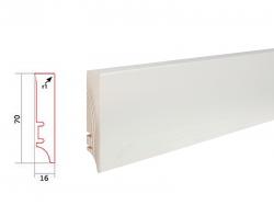 Barlinek WHITE P7C27362A soklová lišta (10 ks / bal.)