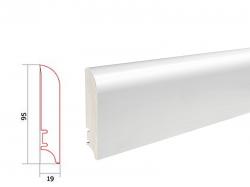 Barlinek WHITE P9227362A soklová lišta (10 ks / bal.)