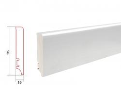 Barlinek WHITE P9527362A soklová lišta (10 ks / bal.)