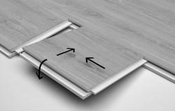 Luxusní zámkové vinylové podlahy ECOCLICK55 - způsob montáže
