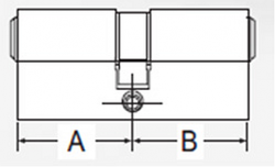 DECENTIS Stavební cylindrická vložka 30/35