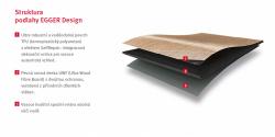 Struktura podlahy Egger PRO Design Flooring
