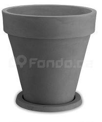 Plastový květináč VASO TONDO DG50