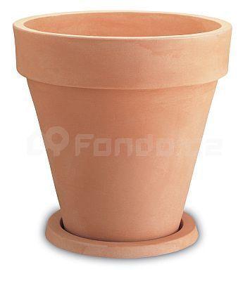 Plastový květináč VASO TONDO