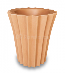 Plastový květináč VICEVERSA TONDO