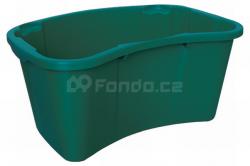 Zahradní plastový koš ERGO-BOX mod.033