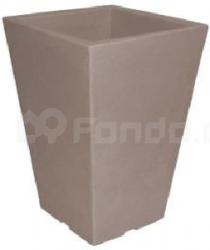 Plastový květináč CAPRI BK TAUPE 24