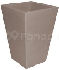 Plastový květináč CAPRI BK TAUPE