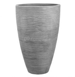 Plastový květináč TROPEA 60 tmavě šedá