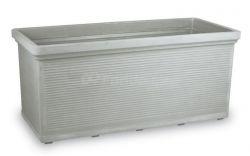 Plastový truhlík TORINO - šedá