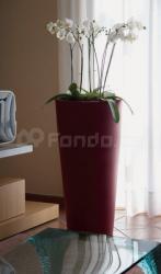 Plastový květináč VASO TONDO ALTO 120