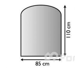 Plech pod kamna 85/110