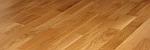 Realizace dřevěné podlahy Dub parketa Barlinek UV lak polomatný