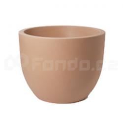 Plastový květináč VASO CONCA 50