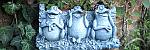 Realizace zahradní dekorace - květináč se žábami