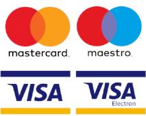 Platba kartami Mastercard a Visa
