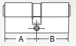 DECENTIS Stavební cylindrická vložka 35/45 mm