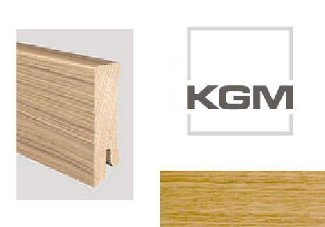 KGM Modern 40 2001893 soklová lišta Dub natur UV lak matný