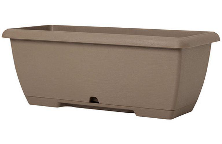 Plastecnic Terrae Midi Beige Scuro 65 plastový truhlík