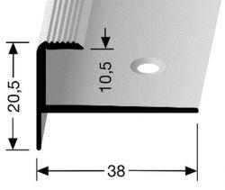 Küberit 811 schodový profil pro krytiny do 10,5 mm