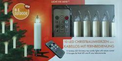 Licht Fix Mini 74050 LED svíčky na vánoční stromeček bezdrátové - ilustrativní balení