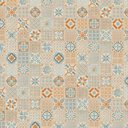 Tarkett Starfloor Click 30 36001003 Retro Orange Blue
