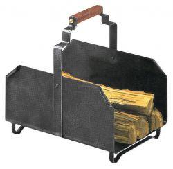 Kovový koš na dřevo mod.012