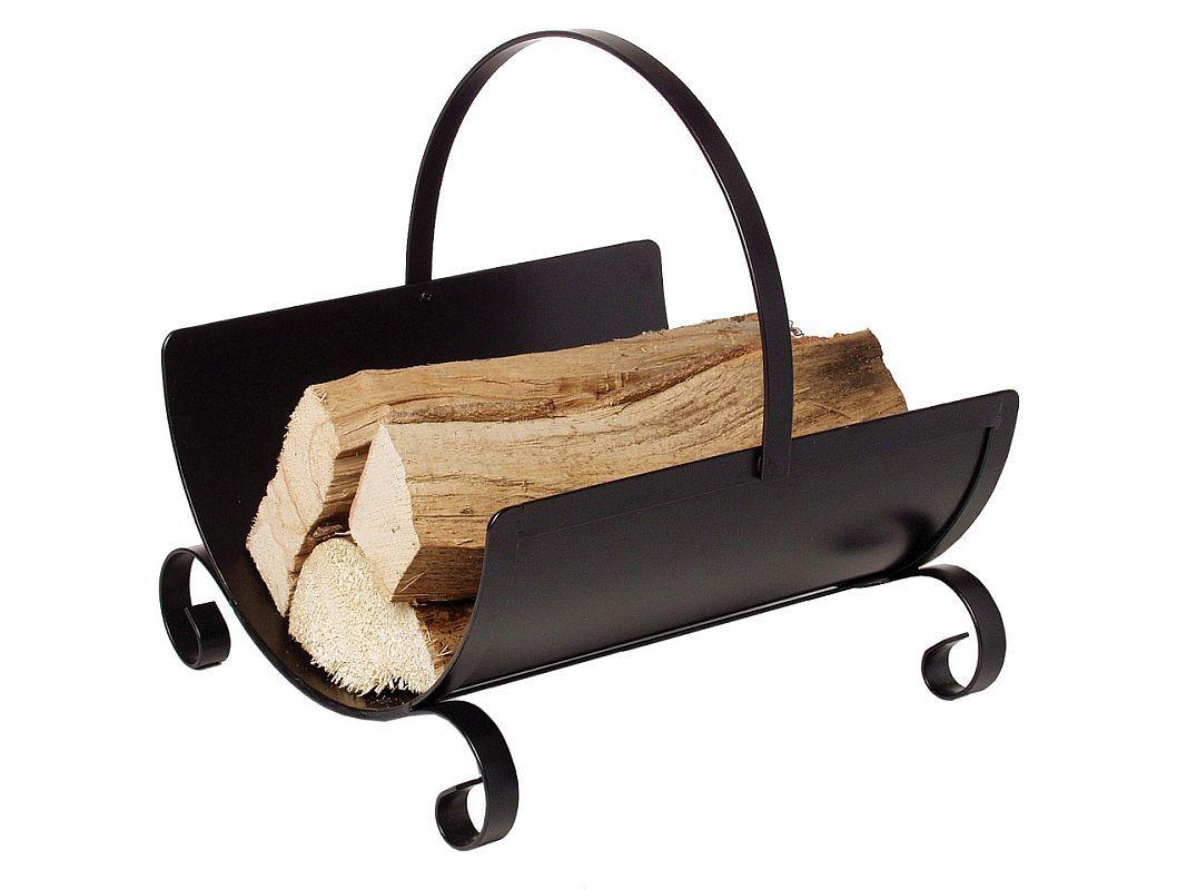 Kovový koš na dřevo mod.023