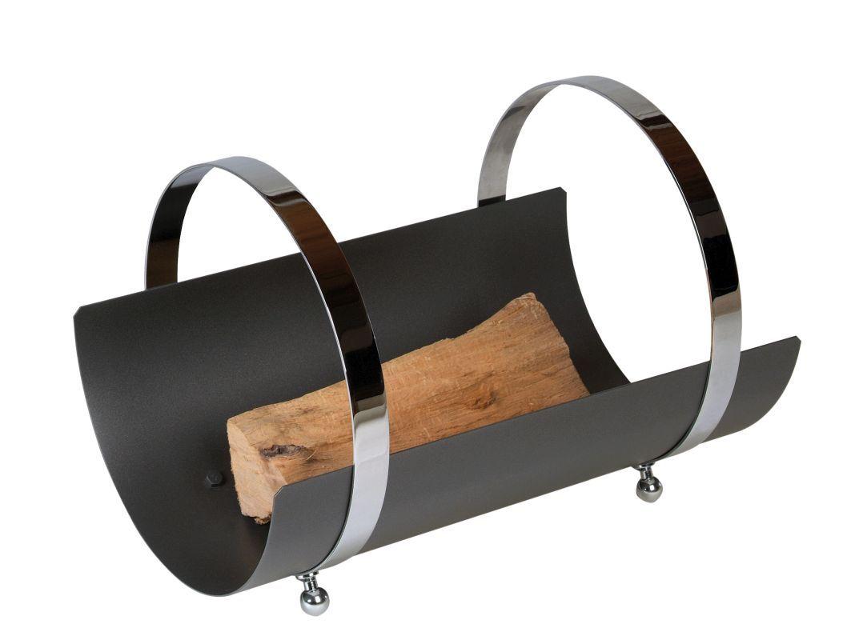 Kovový koš na dřevo mod.203