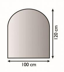 Lienbacher 21.02.280.2 kovová podložka pod kamna