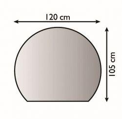 Lienbacher 21.02.283.2 kovová podložka pod kamna