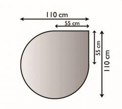 Lienbacher 21.02.284.2 kovová podložka pod kamna