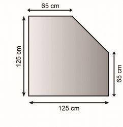 Lienbacher 21.02.287.2 kovová podložka pod kamna