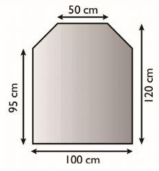 Lienbacher 21.02.289.2 kovová podložka pod kamna