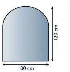 Lienbacher 21.02.880.2 podkladové sklo pod kamna
