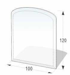 Lienbacher 21.02.882.2 podkladové sklo pod kamna