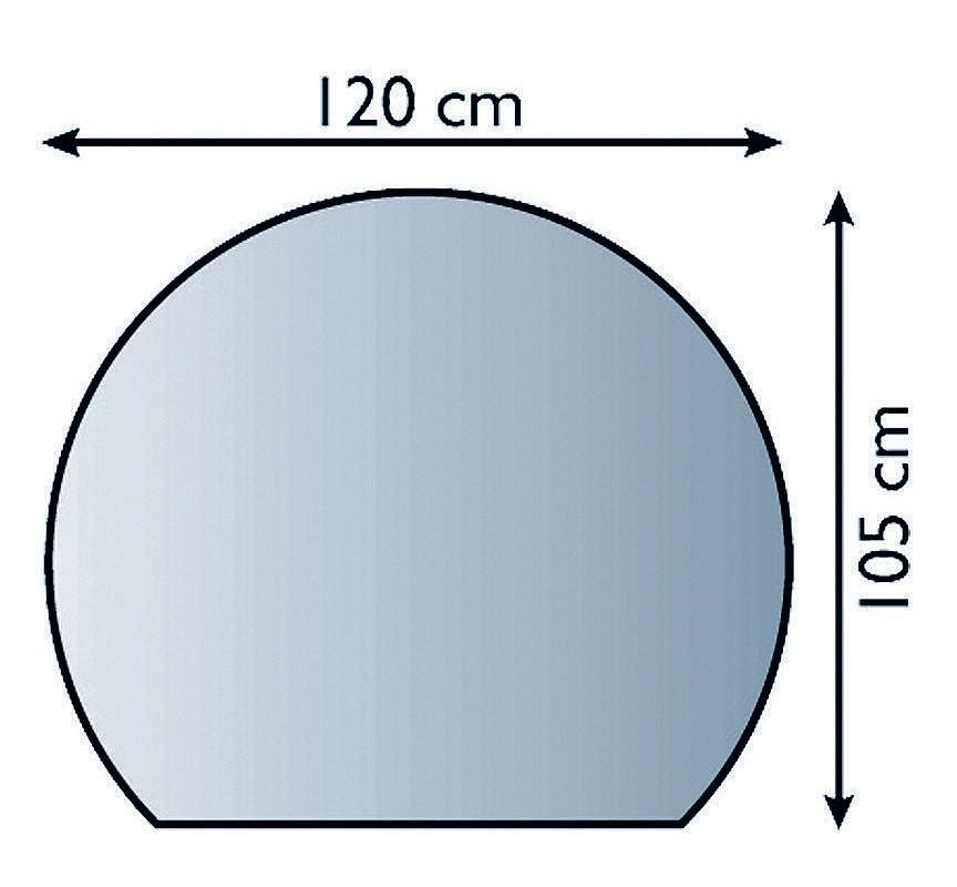 Lienbacher 21.02.883.2 podkladové sklo pod kamna