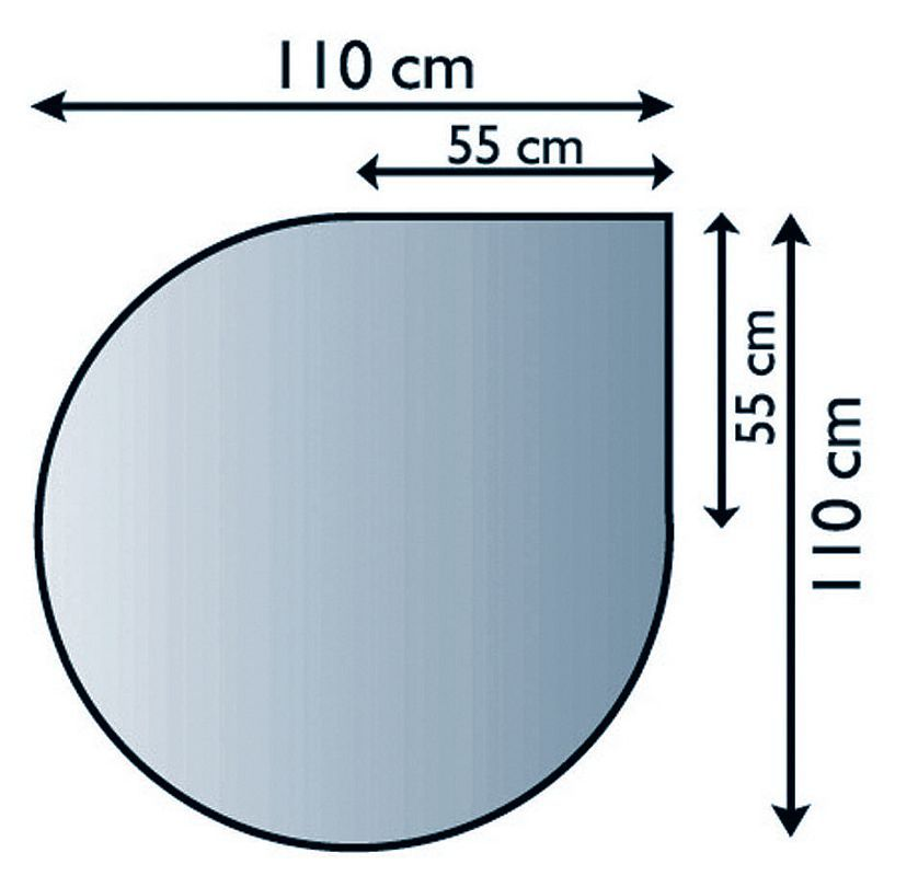 Lienbacher 21.02.884.2 podkladové sklo pod kamna