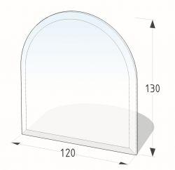 Lienbacher 21.02.886.2 podkladové sklo pod kamna
