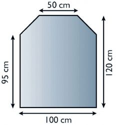 Lienbacher 21.02.889.2 podkladové sklo pod kamna