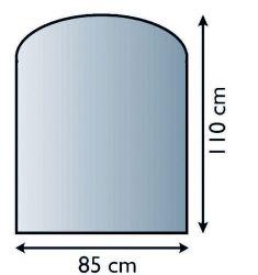 Lienbacher 21.02.981.2 podkladové sklo pod kamna