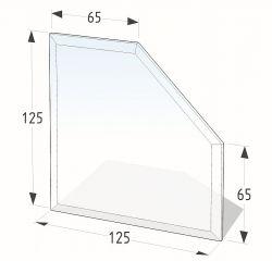 Lienbacher 21.02.983.2 podkladové sklo pod kamna