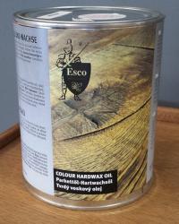 ESCO Tvrdý voskový olej Olivově zelená 3007