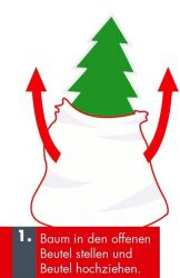 Krinner transportní vak na vánoční stromeček