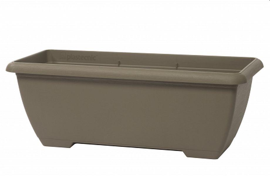 Plastecnic Terrae Maxi Cassetta 80 Beige Scuro plastový truhlík