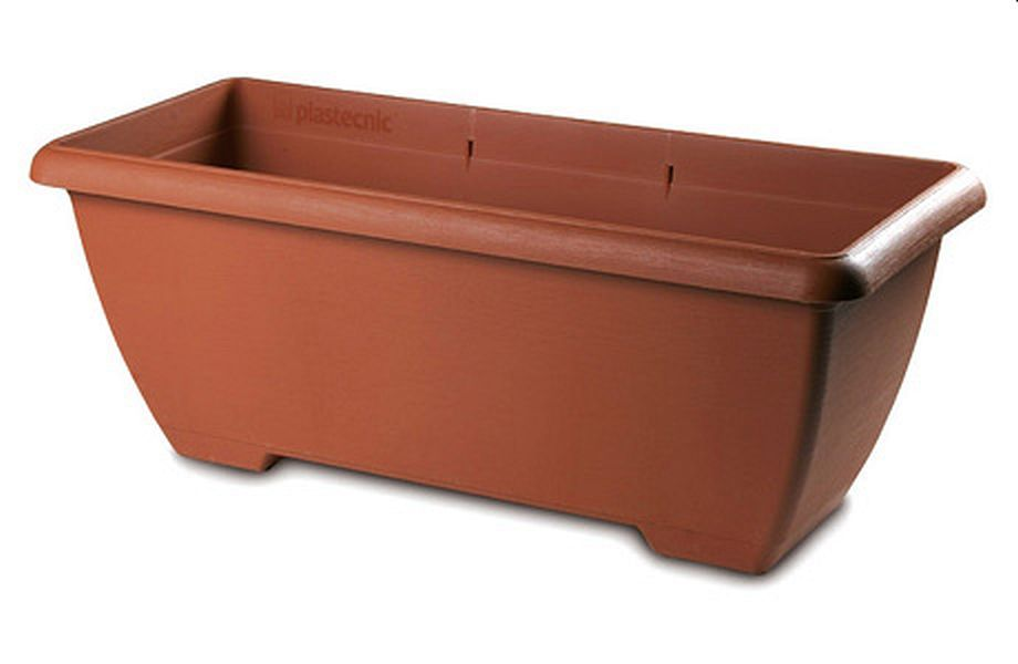 Plastecnic Terrae Maxi Cassetta 80 Terracotta plastový truhlík