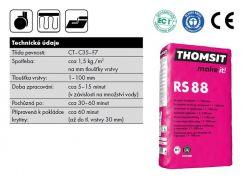 Thomsit RS 88 Renovační vyrovnávací stěrka